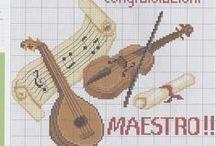 Instrumentos de música.