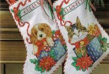 Botinhas de natal.