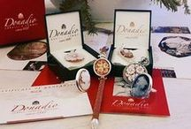 DONADIO GIFT PACKAGING / Typical handmade shell cameos in Donadio jewelry collection.