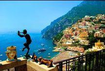 Amalfi coast / Amazing Amalfi coast famous for its beauty and natural landscape.