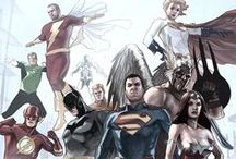 DC Art Portfolio / DC Art I will be using to create similar DC Art Work.