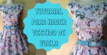 Cosas bonitas con Telas Divinas / Mis DIY de costuras, video tutoriales que podeis ver en el canal de youtube de Telas Divinas