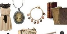Cameo Outfit / Several ways to wear a cameo jewelry.