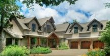 Cliffs Valley Mountain Lodge / A Gabriel Builders handcrafted home located in the Cliffs at Valley in Greenville, SC