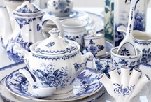 blue & white...  (loved them since forever) / by Barbara Sullivan