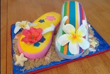 Cakes Tropical/ Beach / by Margie Van Blaricom/Bart