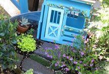 Yard - Fairy & Miniature Gardens / by Sherri T