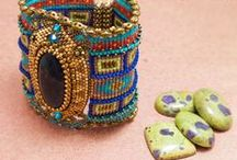 Bead Art - Wrist Pieces / by Candy Lazovic