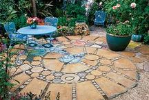 Garden Hardscapes / Rocks, stones, patios, pavers, boulders, walls and all the other hard stuff that makes the garden complete