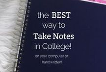 // College Life // / Tips and tools for making the most of college life. Find more on our Facebook page: https://www.facebook.com/JostensCollege