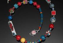 Bead Art - Stringing / Stringing, simple and complex, simple wire wrapping, simple weaving, etc. / by Candy Lazovic