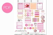 Planner Love / Supplies, inspiration and printables for planners