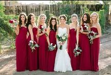 Bridal Entourage! / I love my bridesmaids :) / by Ashley Victoria