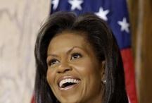 AF's Barack and Family  / Uma diferença de luz própria com carisma incontestável. Um exemplo, de querer é poder e com simplicidade.