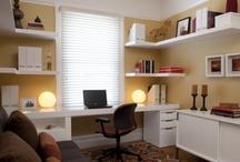 AF's Home Office / Um local de trabalhar com muito prazer.