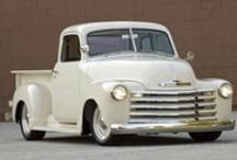 AF's Cars : Pickup trucks, vintage / Automóveis da época de ouro. Ótimas lembranças.