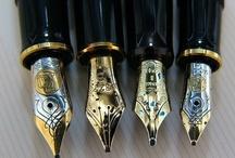 AF's Pens : Mont Blanc / Meistertuck. O segundo estilo de escrita, idos de maio de 1989.