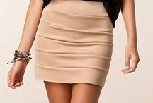 Faldas cortas y largas