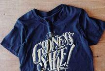 T-Shirt Designs / T-Shirt Design Inspiration