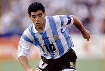 AF's Maradona Diego Armando / A mão de Deus ! Uma Legenda, admirado pela garra Argentina, odiado por no fundo, não ser igualado.  07.03.2014