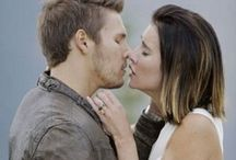 Bold.  Beautiful tv series / Actors of b&b Liam & steff  / by Rebecca