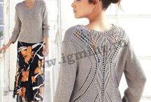 women knitting/вязание для женщин_спицы