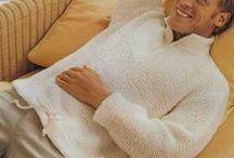 men knitting/вязание для мужчин