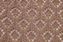 patterns knitting/узоры спицами