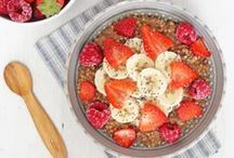 B R E A K F A S T / Healthy, nourishing and energising breakfast ideas