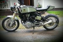 Classic motorcycles / Motorcycle