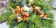 Christmas Flowers Design