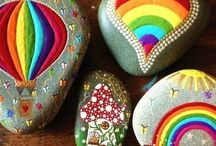 STONES PAINTED