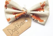 Dog&Beau - Pet Range / This is a board for my other company - Dog&Beau, makers of dog bow ties and bandanas. Man's best friend deserves to look just as good, right?