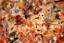 Cecily Brown / Abstract paintings