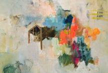 Rhenda Saporito / Abstract paintings