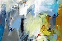 Charlotte Foust / Abstract paintings