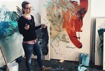 Heather Day / Abstract paintings