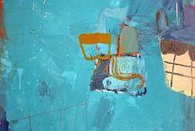 Gary Komarin / Abstract paintings
