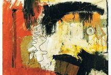 Robert rauschenberg / Abstract paintings