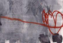 Marie Bortolotto / Abstract paintings