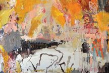 Jo Davenport / Abstract painting