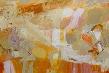Pamela Honeyfield / Abstract paintings