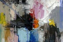 Preben Haven / Abstract paintings