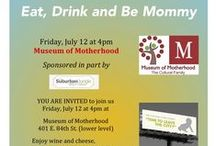 MOM Events in NYC! / What's going on at the Museum of Motherhood in NYC!