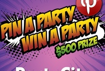 """""""Party City's Pin A Party Win A Party Contest""""   / by vanessa"""