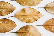 Autumn Wedding/Fall Wedding