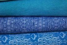 Blue and turquoise / Color board / blue, turquoise, teal
