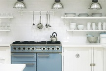 Kitchens / I love my kitchen. Its a place where so much happens on a daily basis. These are great ideas to consider if you are planning a new kitchen as I am.