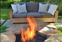 Patio & BBQ / A patio is an extension of your house. During summer we practically live outdoors. here are some fab ideas for patios and Braai/BBQ areas.