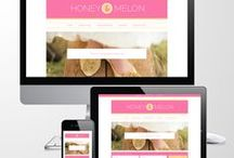 My Responsive Blog Theme Designs / I currently run an Etsy store where I sell blog themes that'll make your Wordpress or Blogger blog look gorgeous on any device and at all sizes. https://www.etsy.com/shop/Mindflight